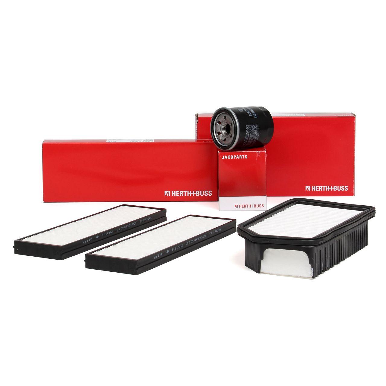 HERTH+BUSS JAKOPARTS Filterpaket Filterset für HYUNDAI i20 (PB, PBT) 1.2 78 PS
