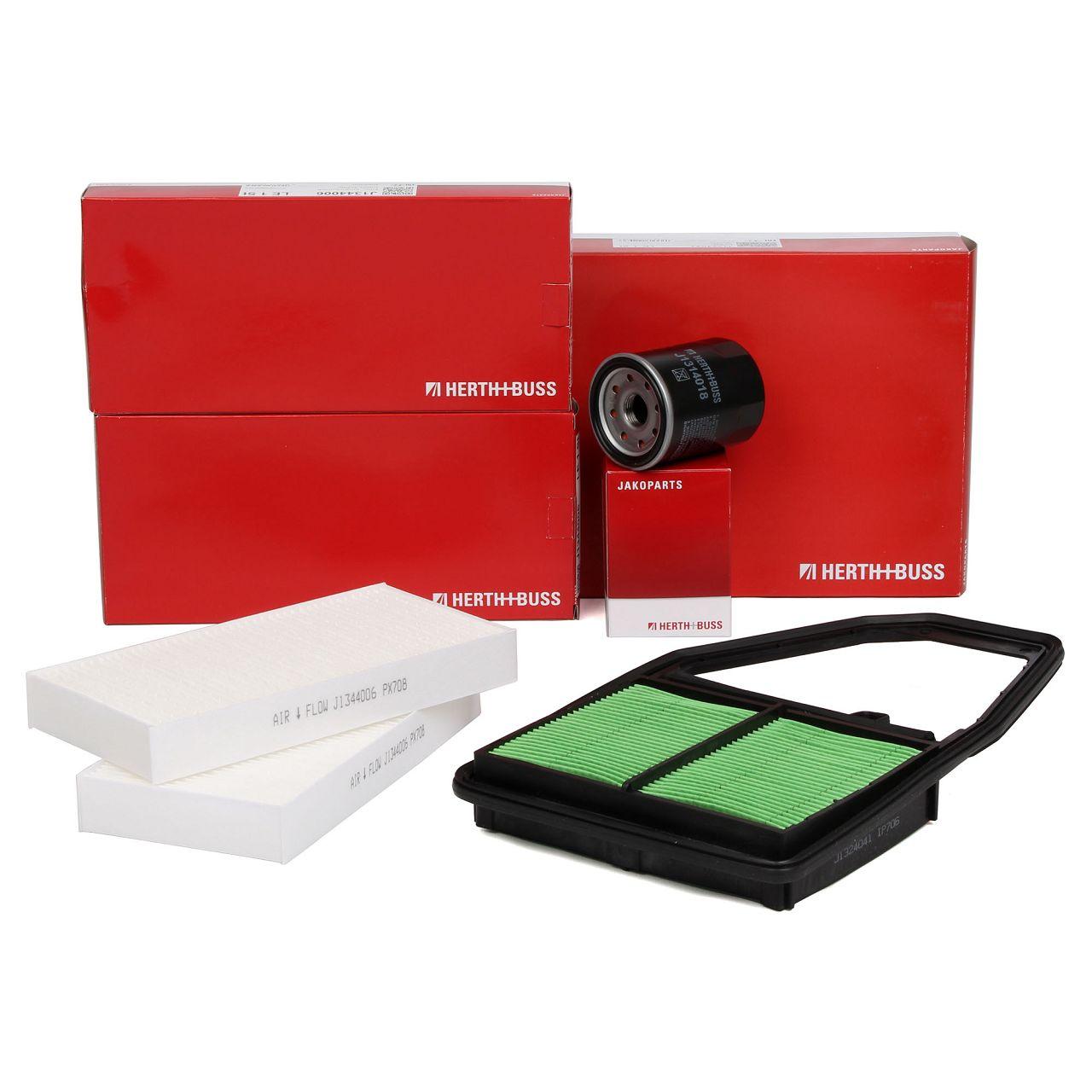 HERTH+BUSS Filterset für HONDA CIVIC VII Hatchback (EU, EP, EV) 1.4i 1.4iS 1.6i