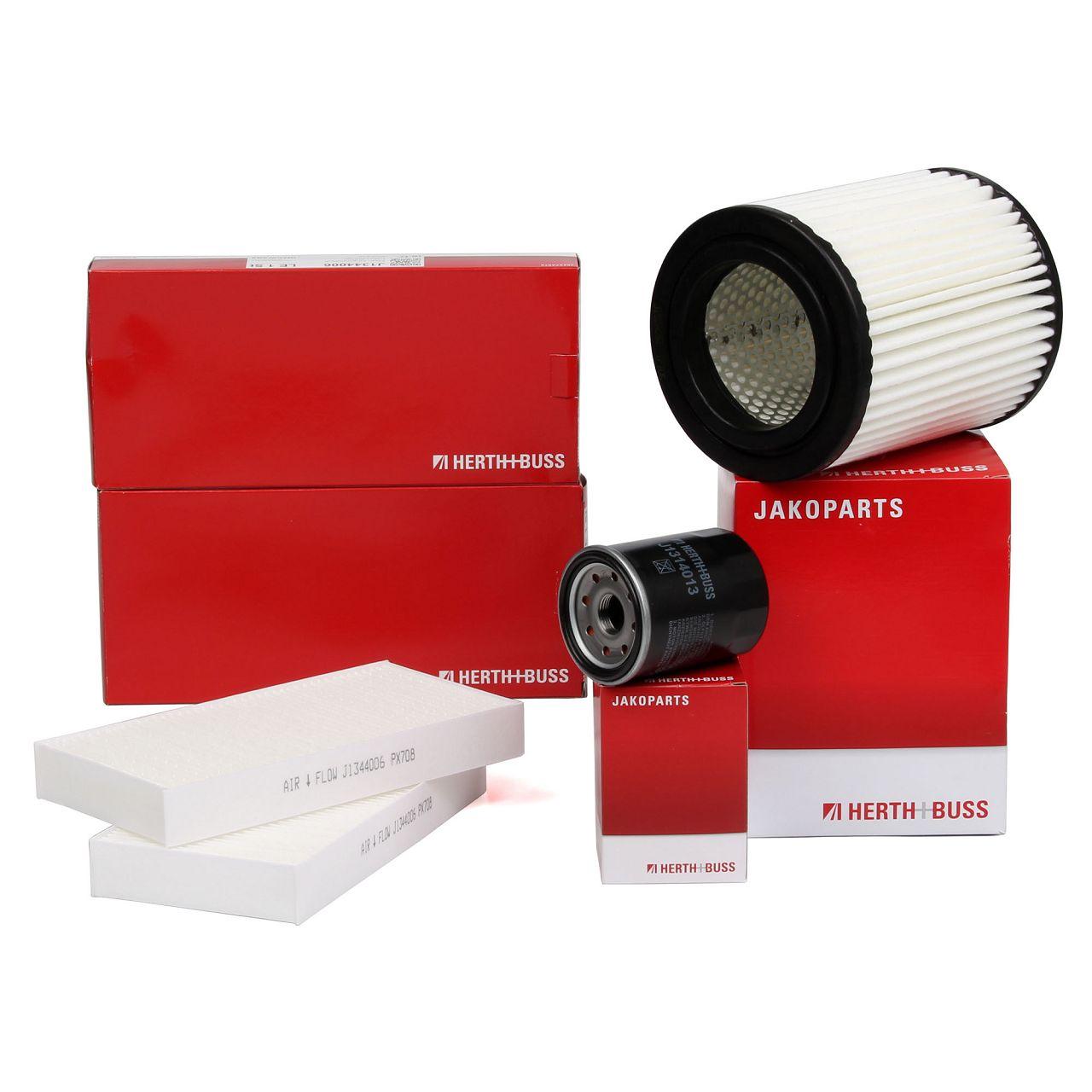 HERTH+BUSS Filterset für HONDA CIVIC VII 2.0 160/200 PS CR-V II FR-V 2.0 150 PS