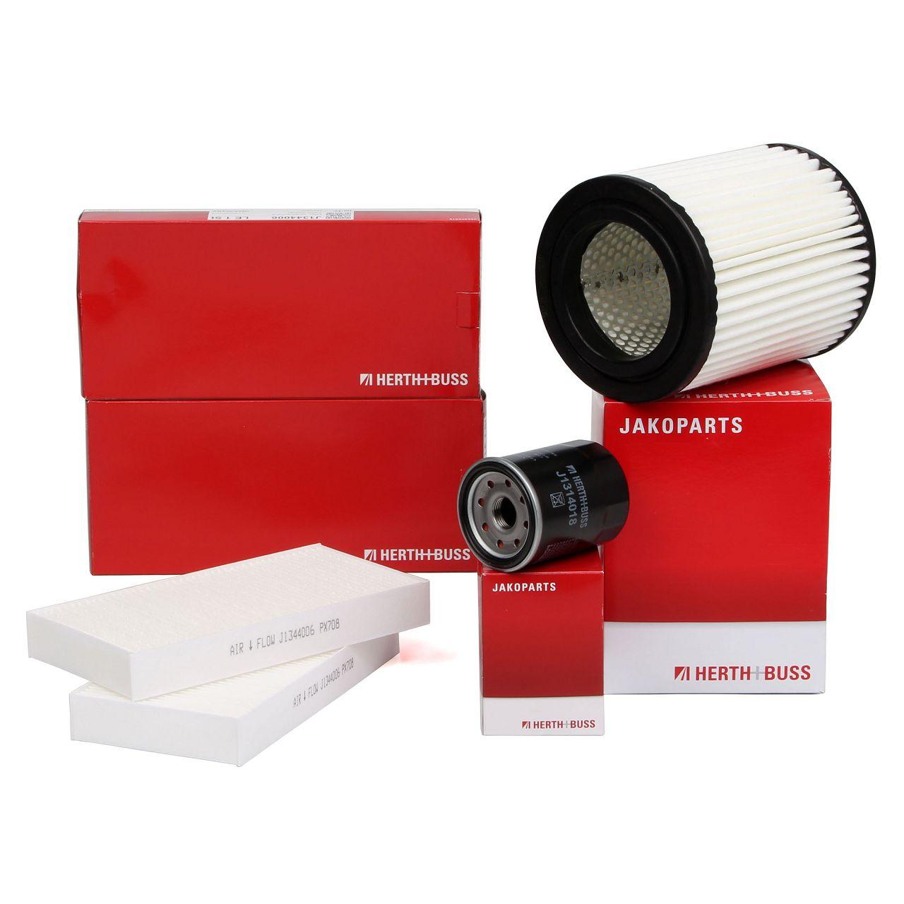 HERTH+BUSS Filterset für HONDA CIVIC VII Hatchback (EU, EP, EV) 2.0 160/200 PS