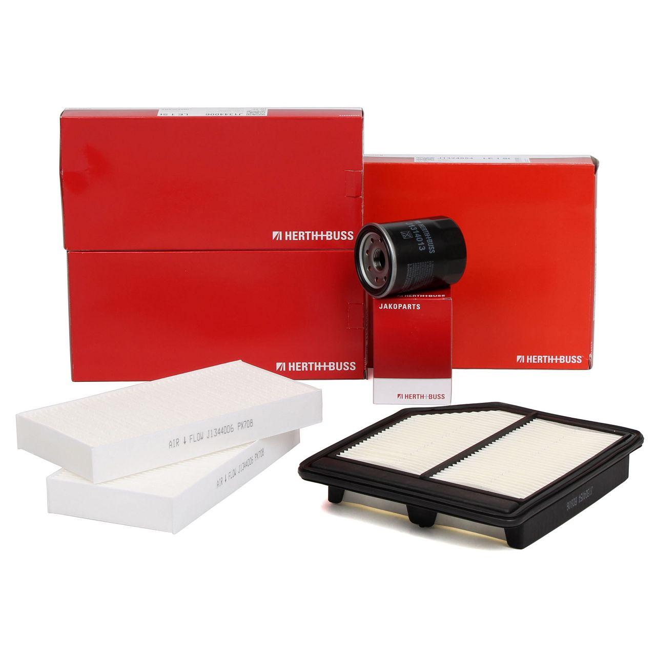 HERTH+BUSS Inspektionskit Filterpaket Filterset für HONDA FR-V (BE) 1.8 140 PS