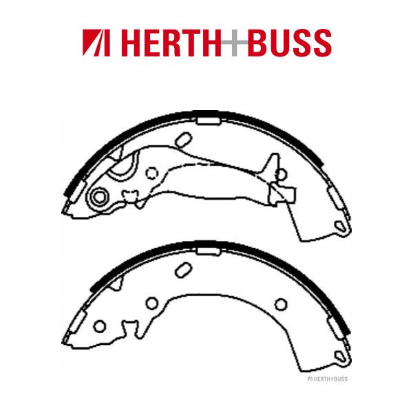 HERTH+BUSS JAKOPARTS Bremsbacken Satz HYUNDAI Getz i10 i20 bis 12.2015 hinten