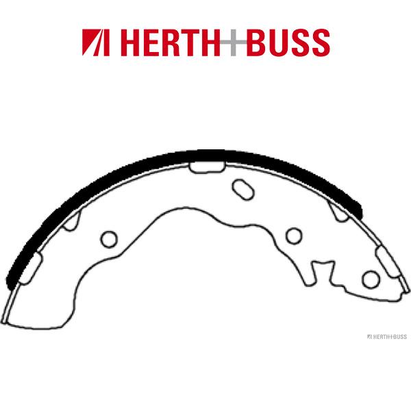 HERTH+BUSS JAKOPARTS Bremsbacken Satz HYUNDAI Accent 2 Lantra 2 Matrix hinten