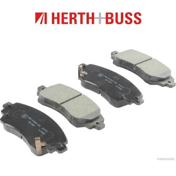 HERTH+BUSS Bremsen Kit Bremsscheiben + Beläge für TOYOTA COROLLA (_E11_) vorne