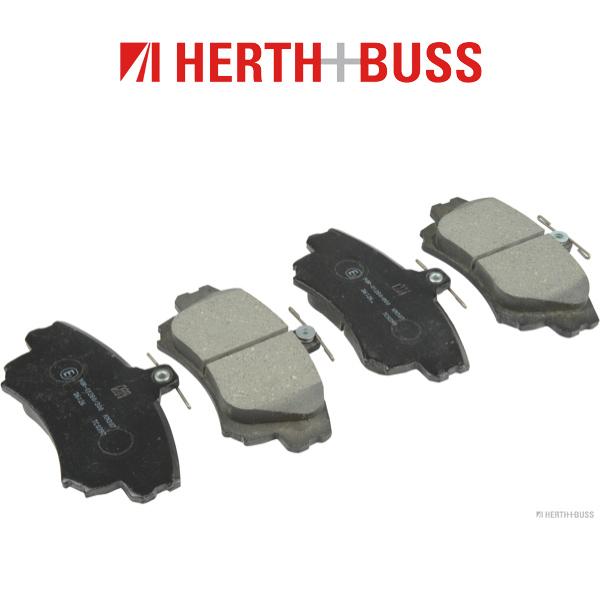 HERTH+BUSS Bremsscheiben + Beläge für MITSUBISHI COLT VI SMART FORFOUR 454 vorne