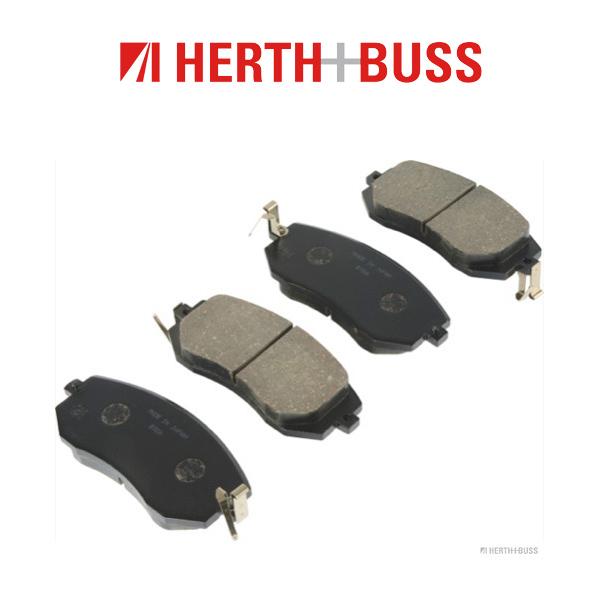 HERTH+BUSS JAKOPARTS Bremsscheiben + Beläge TOYOTA GT 86 2.0 200 PS vorne