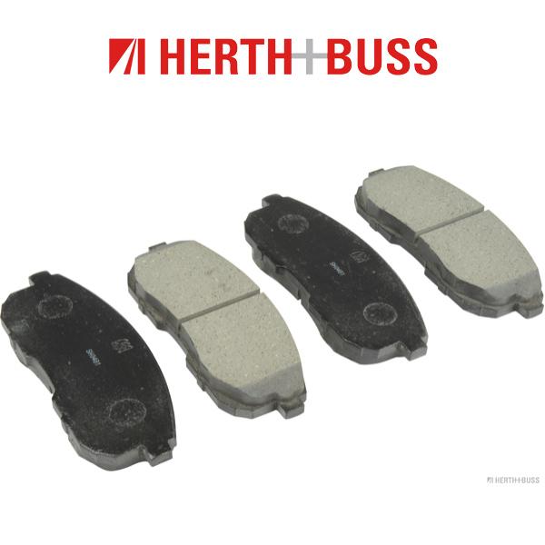 HERTH+BUSS Bremsen Bremsscheiben + Bremsbeläge für SUZUKI SX4 (EY GY) 1.6 vorne