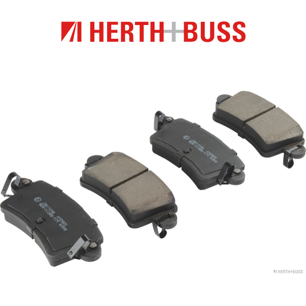 HERTH+BUSS Bremsen Bremsscheiben + Bremsbeläge für NISSAN INTERSTAR (X70) hinten