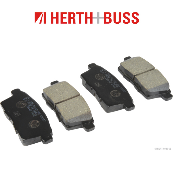 HERTH+BUSS Bremsen Bremsscheiben + Beläge für MAZDA CX-7 (ER) 2.3 Turbo hinten