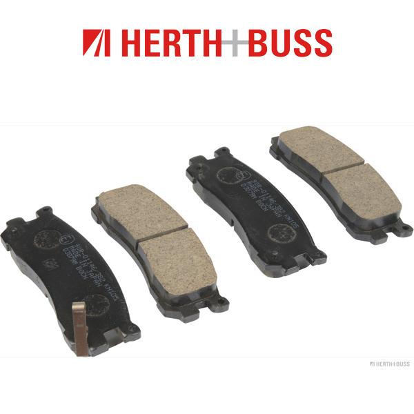 HERTH+BUSS Bremsen Bremsscheiben + Beläge für MAZDA MPV I (LV) 3.0 2.5 TD hinten