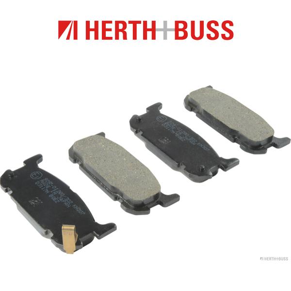 HERTH+BUSS Bremsen Kit Bremsscheiben + Bremsbeläge für MAZDA MX-5 II (NB) hinten