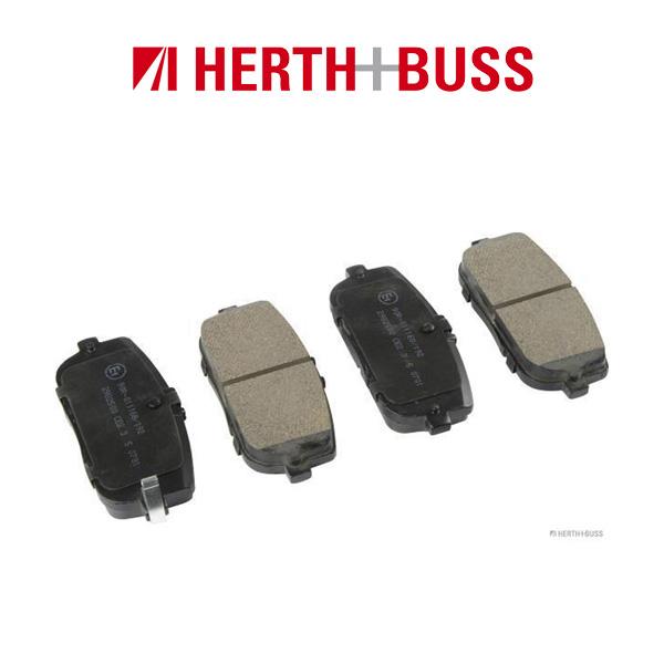 HERTH+BUSS Bremsen Bremsscheiben + Bremsbeläge für MAZDA MX-5 III (NC) hinten