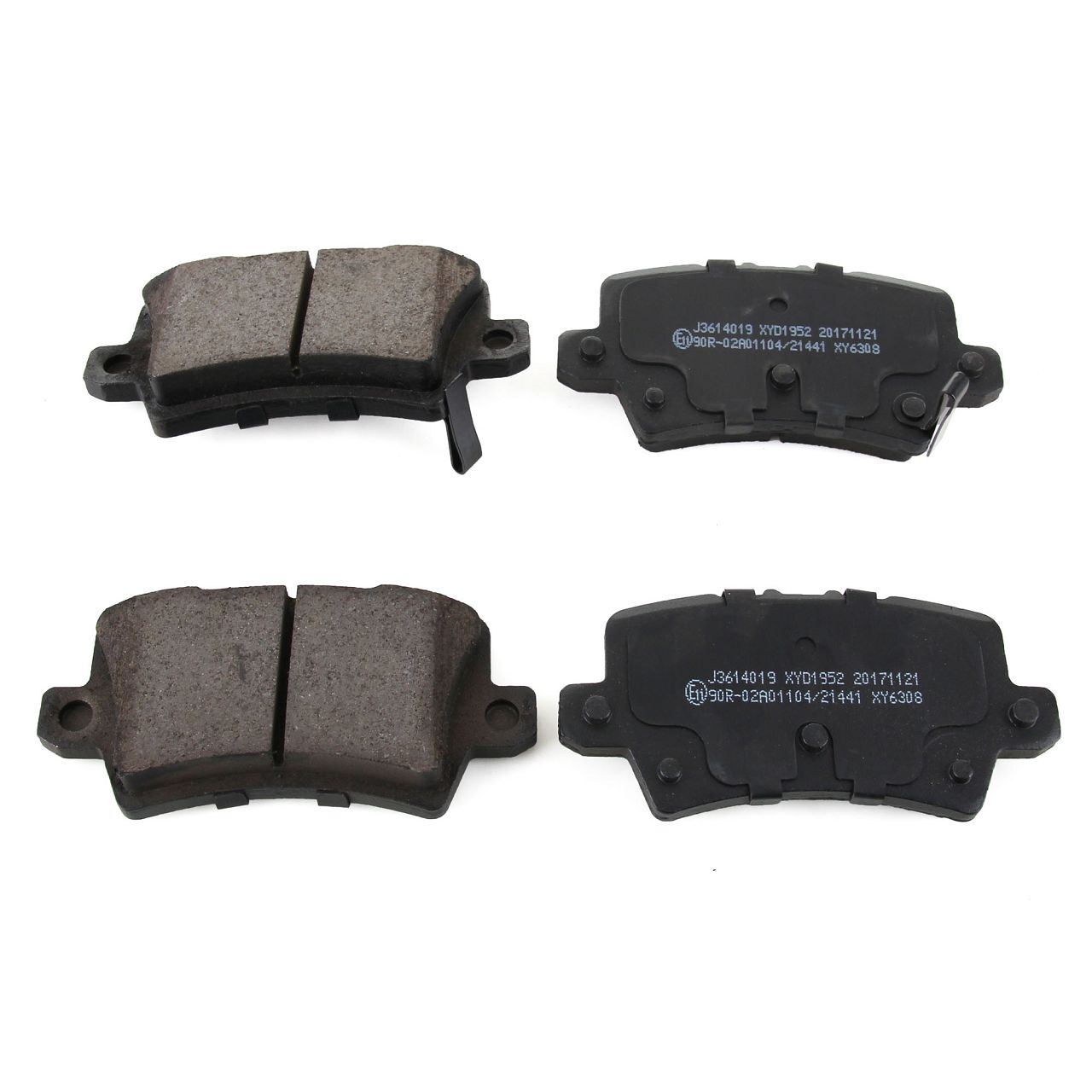 HERTH+BUSS Bremsen Bremsscheiben + Beläge für HONDA CIVIC VIII Hatchback hinten