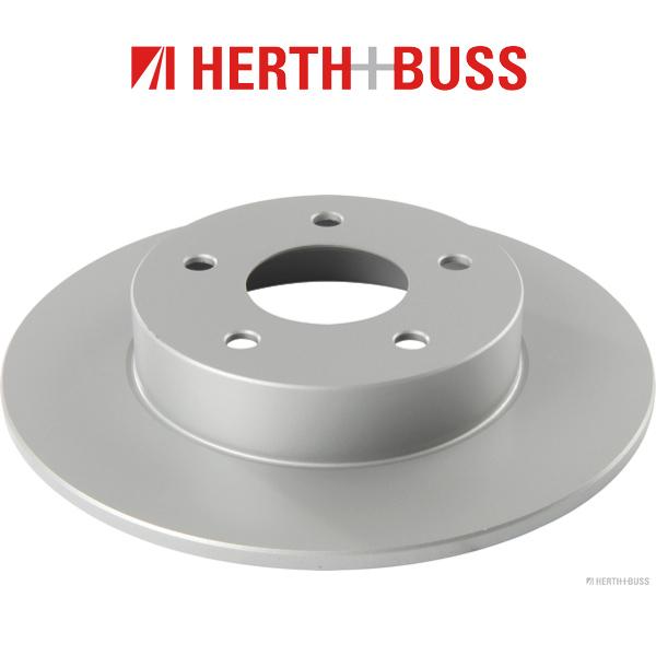HERTH+BUSS Bremsen Kit Bremsscheiben + Beläge für NISSAN MAXIMA / QX IV V hinten