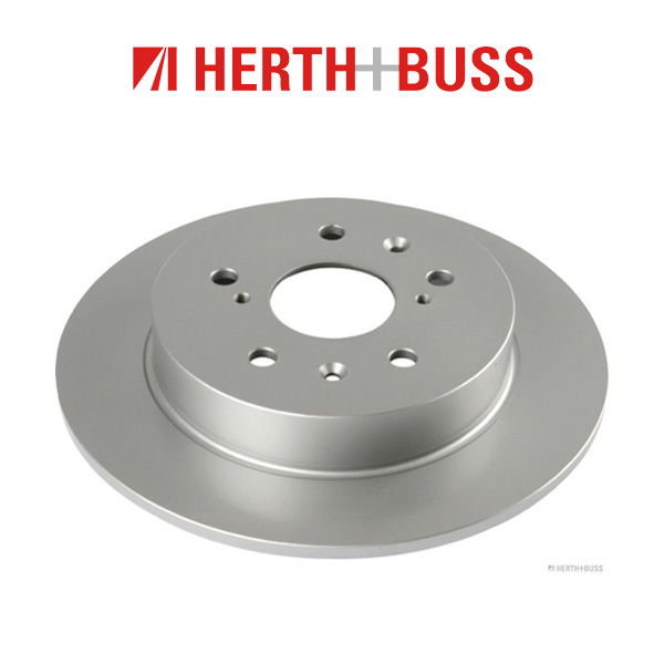 HERTH+BUSS Bremsscheiben + Beläge SUZUKI Swift III Sport 1.6 125 PS hinten
