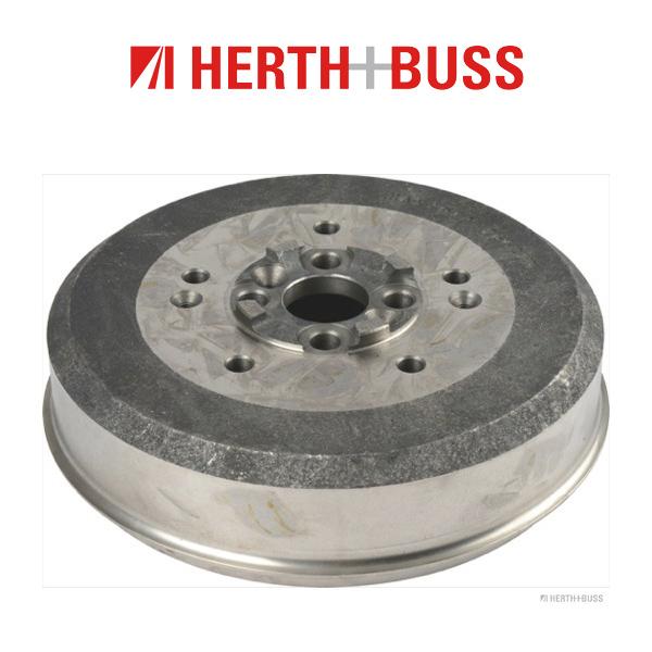 HERTH+BUSS JAKOPARTS Bremstrommel für KIA RETONA SPORTAGE 83 118 128 PS hinten