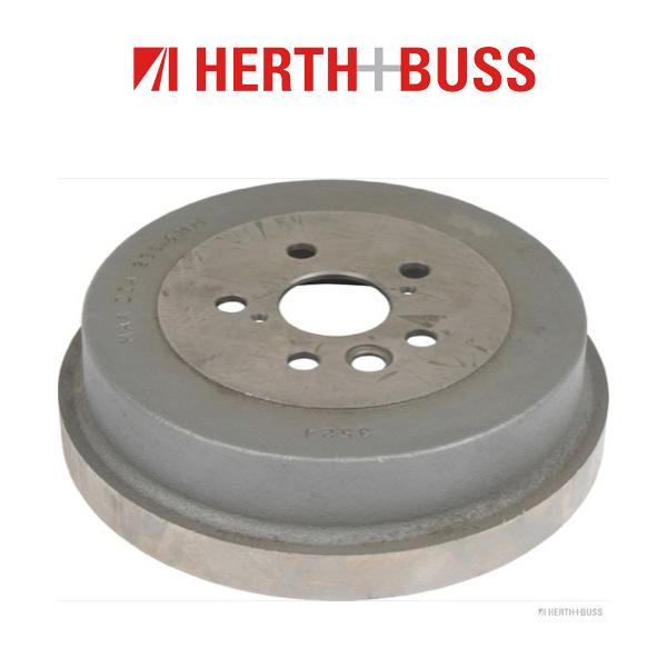 HERTH+BUSS JAKOPARTS Bremstrommel für TOYOTA CAMRY 84 86 121 128 PS hinten
