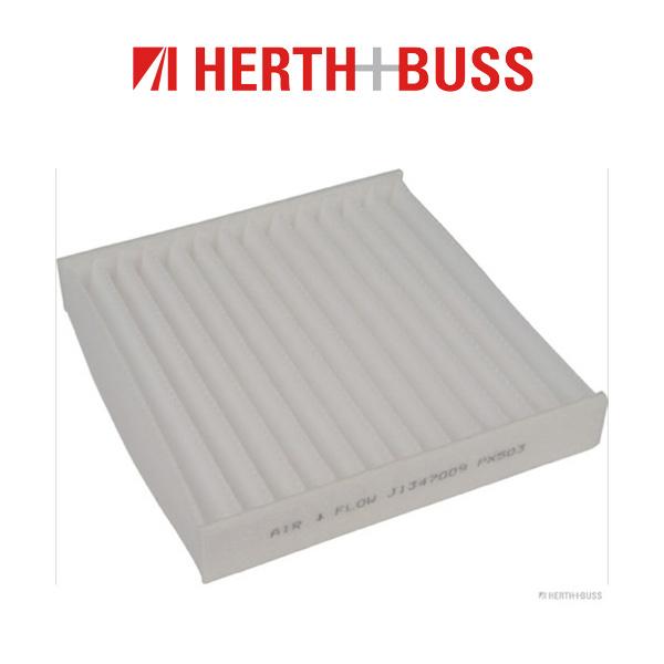 HERTH+BUSS JAKOPARTS Inspektionskit Filterpaket für TOYOTA GT 86 2.0 200 PS
