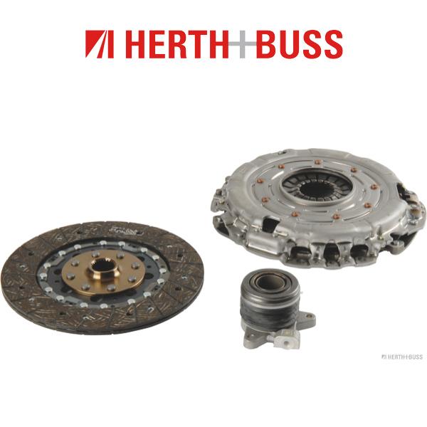HERTH+BUSS JAKOPARTS Kupplungssatz für SSANGYONG KYRON RODIUS 163 165 PS