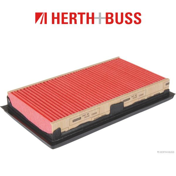 HERTH+BUSS JAKOPARTS Inspektionskit Filterpaket für NISSAN QASHQAI (J10) 1.5dCi