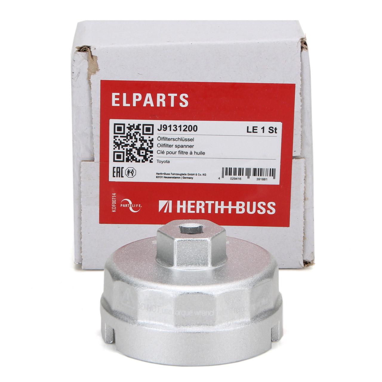HERTH+BUSS JAKOPARTS Ölfilterdeckel Ölfilterschlüssel LEXUS CT TOYOTA Auris
