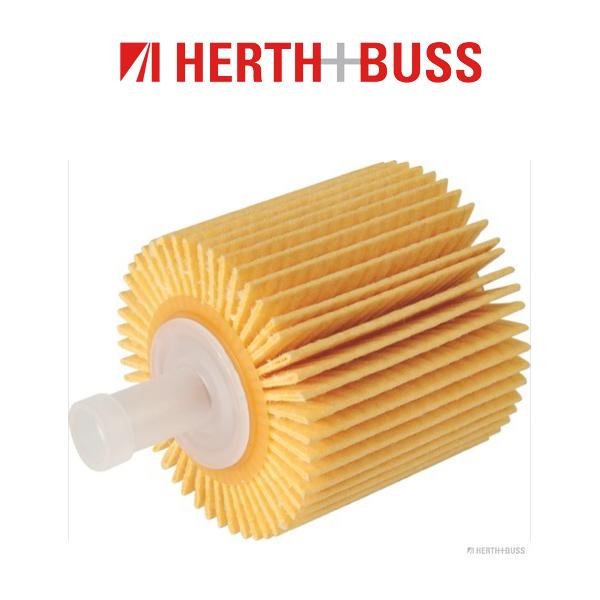 HERTH+BUSS JAKOPARTS Inspektionskit TOYOTA Auris Corolla E18 1.4 D-4D