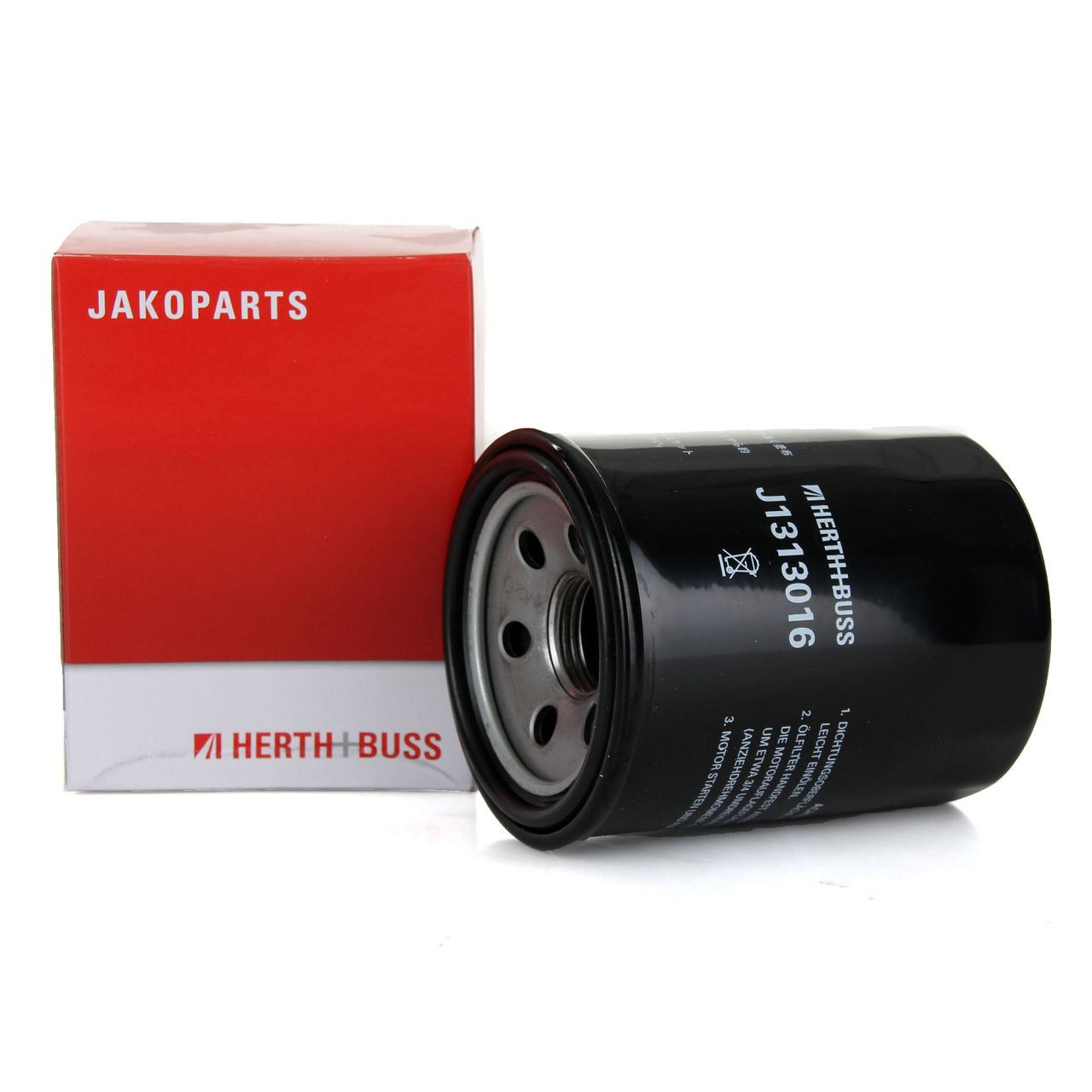 HERTH+BUSS JAKOPARTS Ölfilter J1313016 für ISUZU KIA MAZDA MITSUBISHI VW