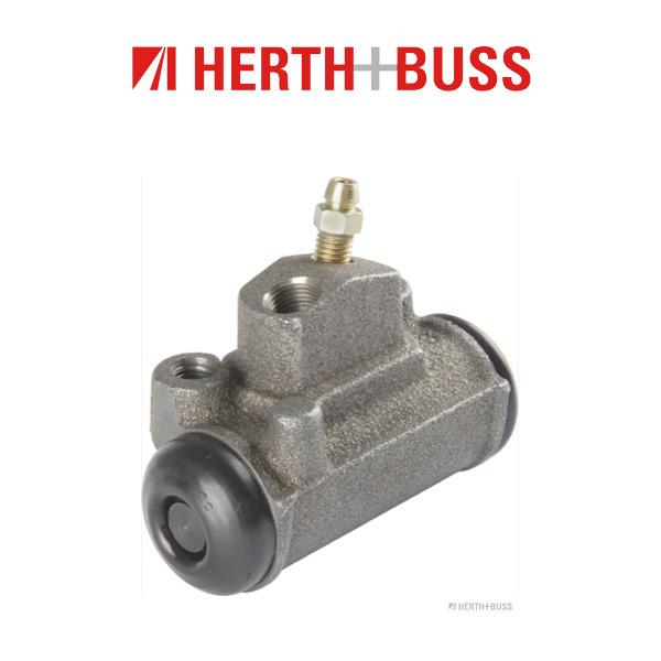 HERTH+BUSS JAKOPARTS Radbremszylinder für MAZDA B-SERIE (UF) 2.5 D 4WD hinten l