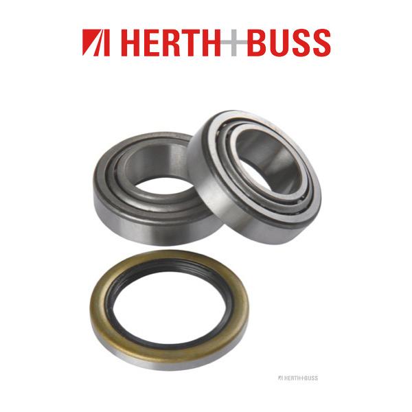 HERTH+BUSS JAKOPARTS Radlager Satz für HYUNDAI PONY S COUPE PONY / EXCEL hinten