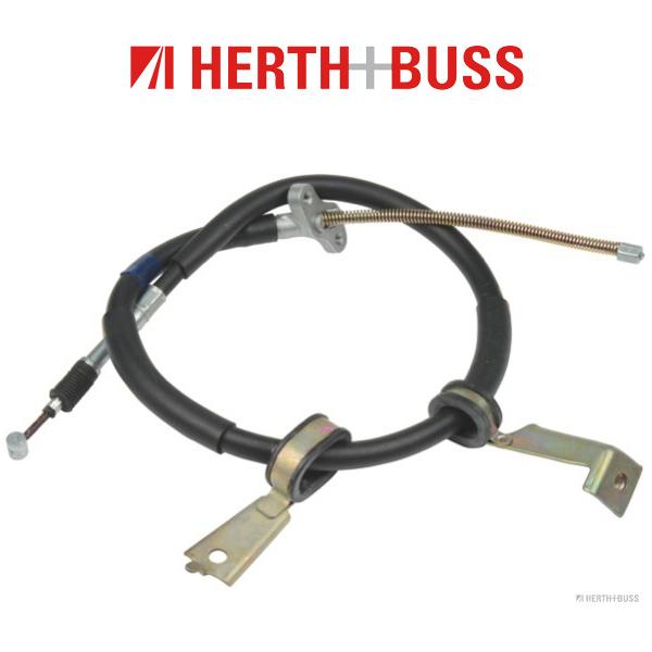 HERTH+BUSS JAKOPARTS Bremsseil für TOYOTA PREVIA 132 PS bis 08.2000 hinten links