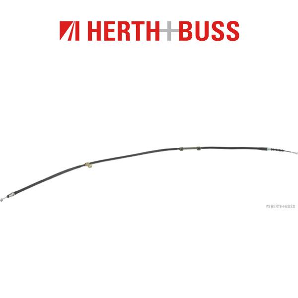 HERTH+BUSS JAKOPARTS Bremsseil für KIA CLARUS + KOMBI 116 133 PS hinten rechts