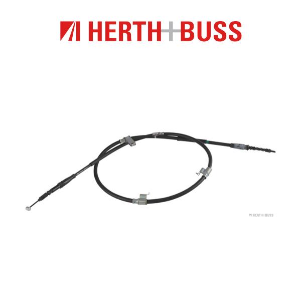 HERTH+BUSS JAKOPARTS Bremsseil Seilzug für KIA SORENTO II (XM) rechts hinten