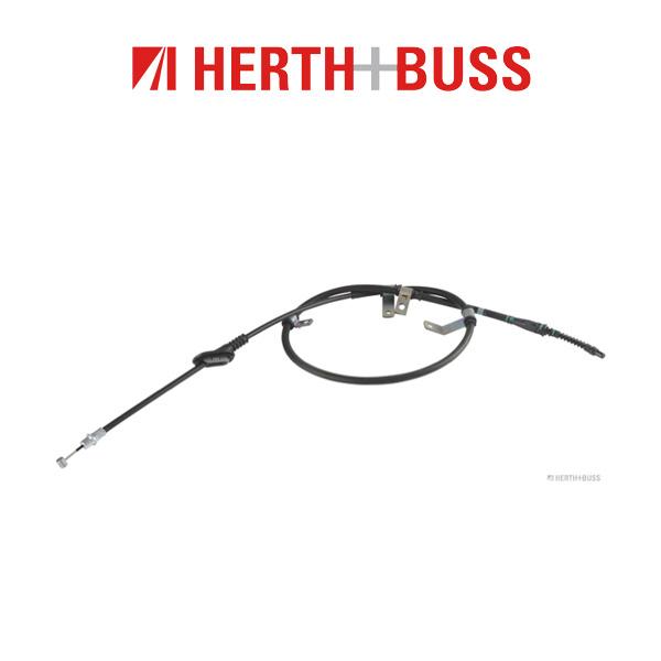 HERTH+BUSS JAKOPARTS Bremsseil Seilzug für KIA CARENS III (UN) hinten rechts