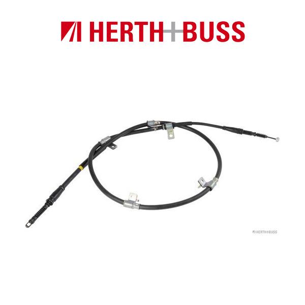 HERTH+BUSS JAKOPARTS Bremsseil Seilzug für KIA SORENTO II (XM) hinten rechts