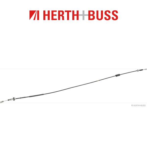 HERTH+BUSS JAKOPARTS Kupplungsseil für MITSUBISHI L 300 III 2.0i 113 PS ab 06.1