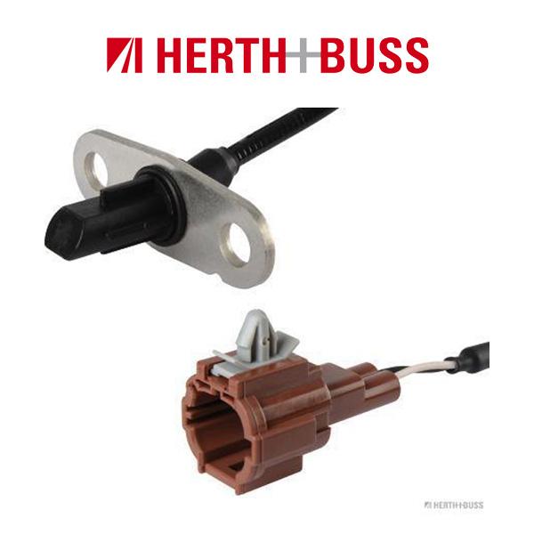 HERTH+BUSS JAKOPARTS ABS Sensor Raddrehzahl für NISSAN NP300 NAVARA D40 hinten