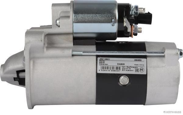 HERTH+BUSS JAKOPARTS Starter Anlasser 14V 2,0 kW CHRYSLER Voyager 4 2.5 CRD