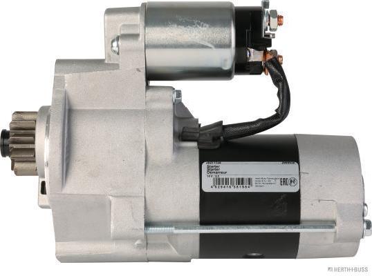 HERTH+BUSS JAKOPARTS Starter Anlasser 12V 2,2 kW NISSAN Pathfinder III 2.5 dCi