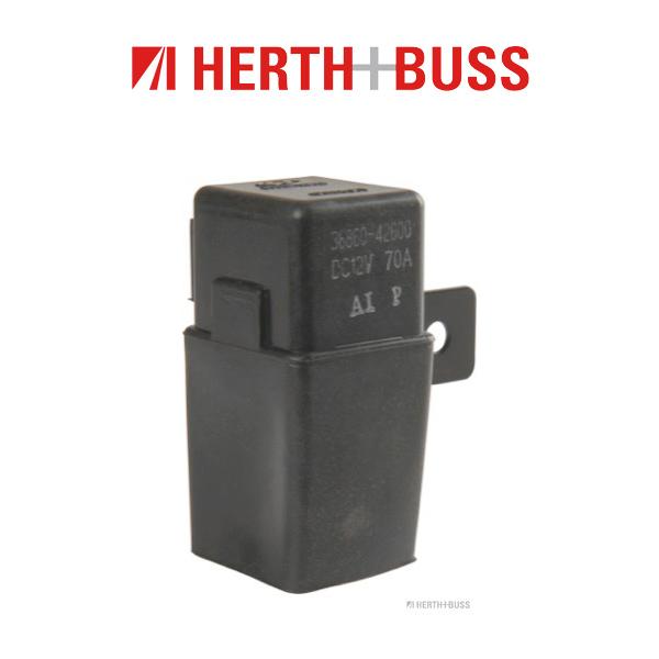 HERTH+BUSS JAKOPARTS Relais Glühzeit für HYUNDAI H-1 / STAREX 2.5 CRDi 110/140