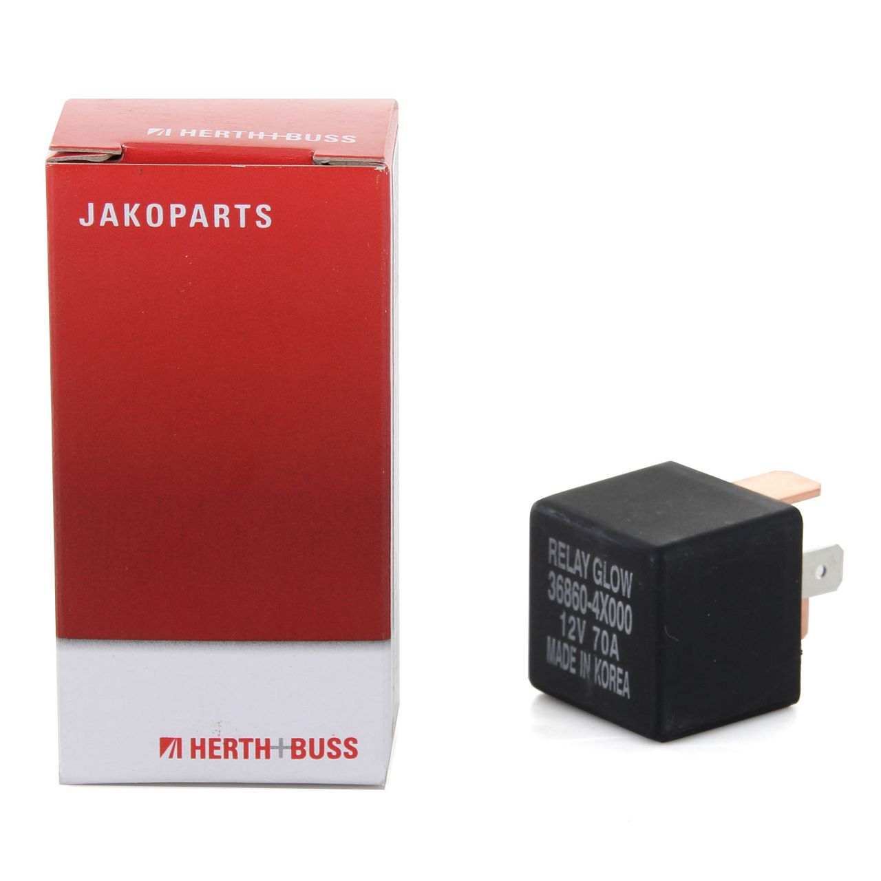 HERTH+BUSS JAKOPARTS J5720502 Relais Glühanlage für HYUNDAI KIA 36860-4X000