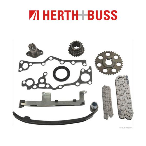 HERTH+BUSS JAKOPARTS Steuerkettensatz für TOYOTA PREVIA 2.4 / 4WD 132 PS ab 02.