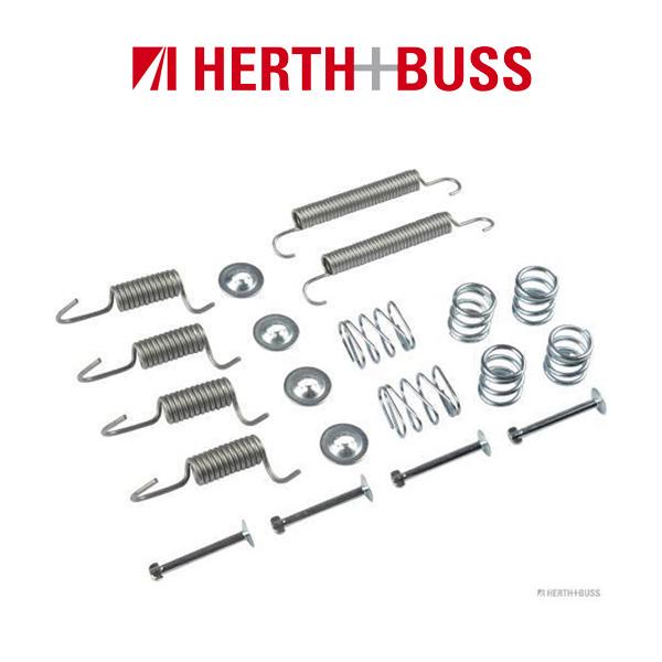HERTH+BUSS JAKOPARTS Bremsbackenfedernsatz für HYUNDAI i20 PB PBT 1.2 1.4CRDi h
