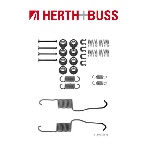 HERTH+BUSS JAKOPARTS Bremsbacken Zubehörsatz für DAIHATSU TERIOS CAMRY hinten