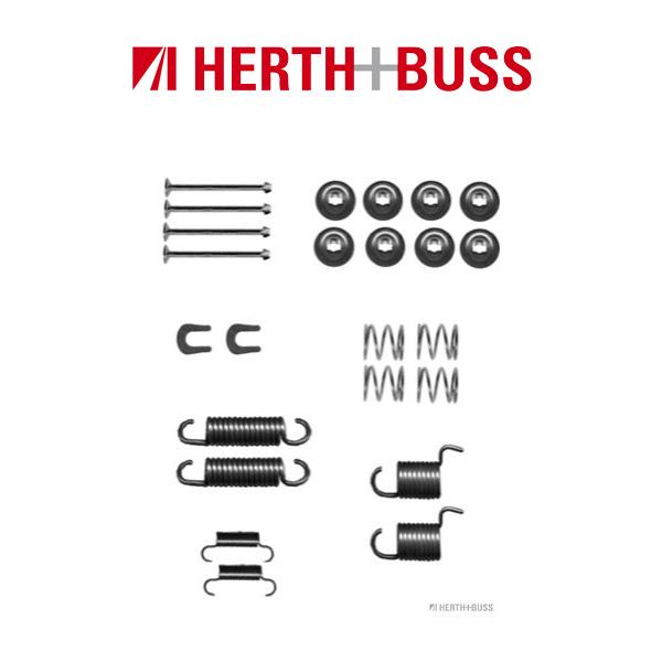 HERTH+BUSS JAKOPARTS Bremsbacken Zubehörsatz für DAIHATSU ROCKY RUGGER hinten