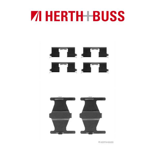 HERTH+BUSS Bremsen Bremsscheiben + Beläge für NISSAN PRIMERA Traveller hinten