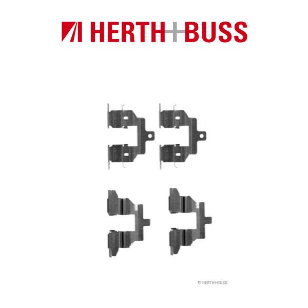 HERTH+BUSS Bremsen Bremsscheiben + Beläge für NISSAN JUKE F15 QASHQAI I hinten