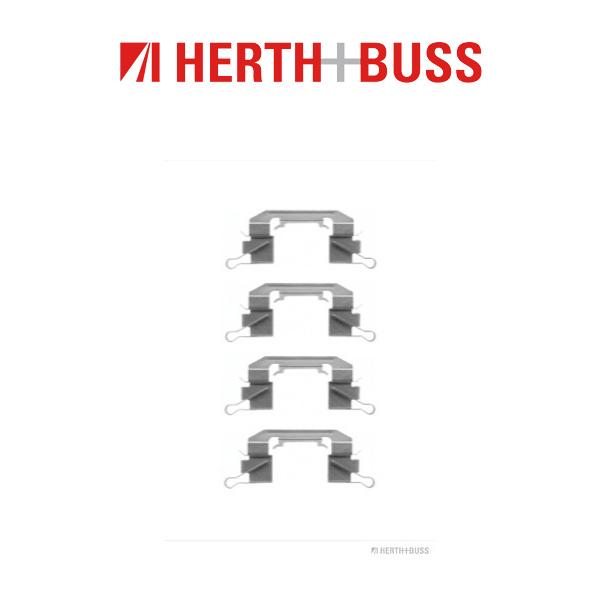 HERTH+BUSS Bremsen Bremsscheiben + Beläge für NISSAN MURANO I Z50 II Z51 vorne