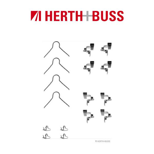 HERTH+BUSS Bremsscheiben + Beläge für TOYOTA STARLET 1.3 + 1.5 D mit ABS vorne