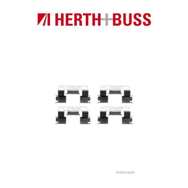HERTH+BUSS Bremsen Bremsscheiben + Beläge für TOYOTA COROLLA (E12) 1.4 1.6 vorne