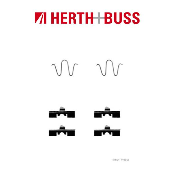 HERTH+BUSS Bremsen Bremsscheiben + Beläge für MAZDA 323 IV BG MX-5 I NA hinten